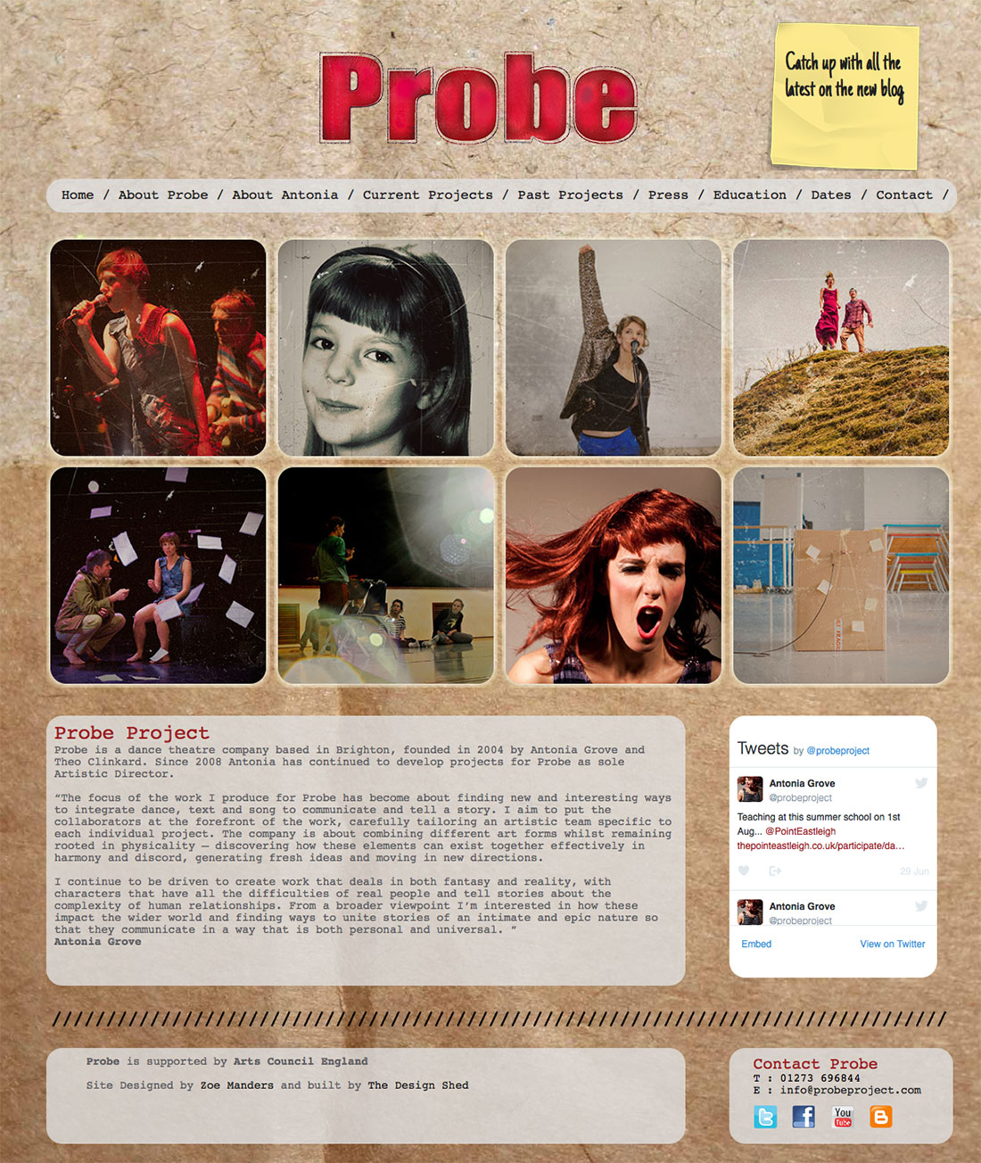 Probe Project Website