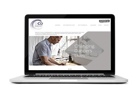 The dcd website design