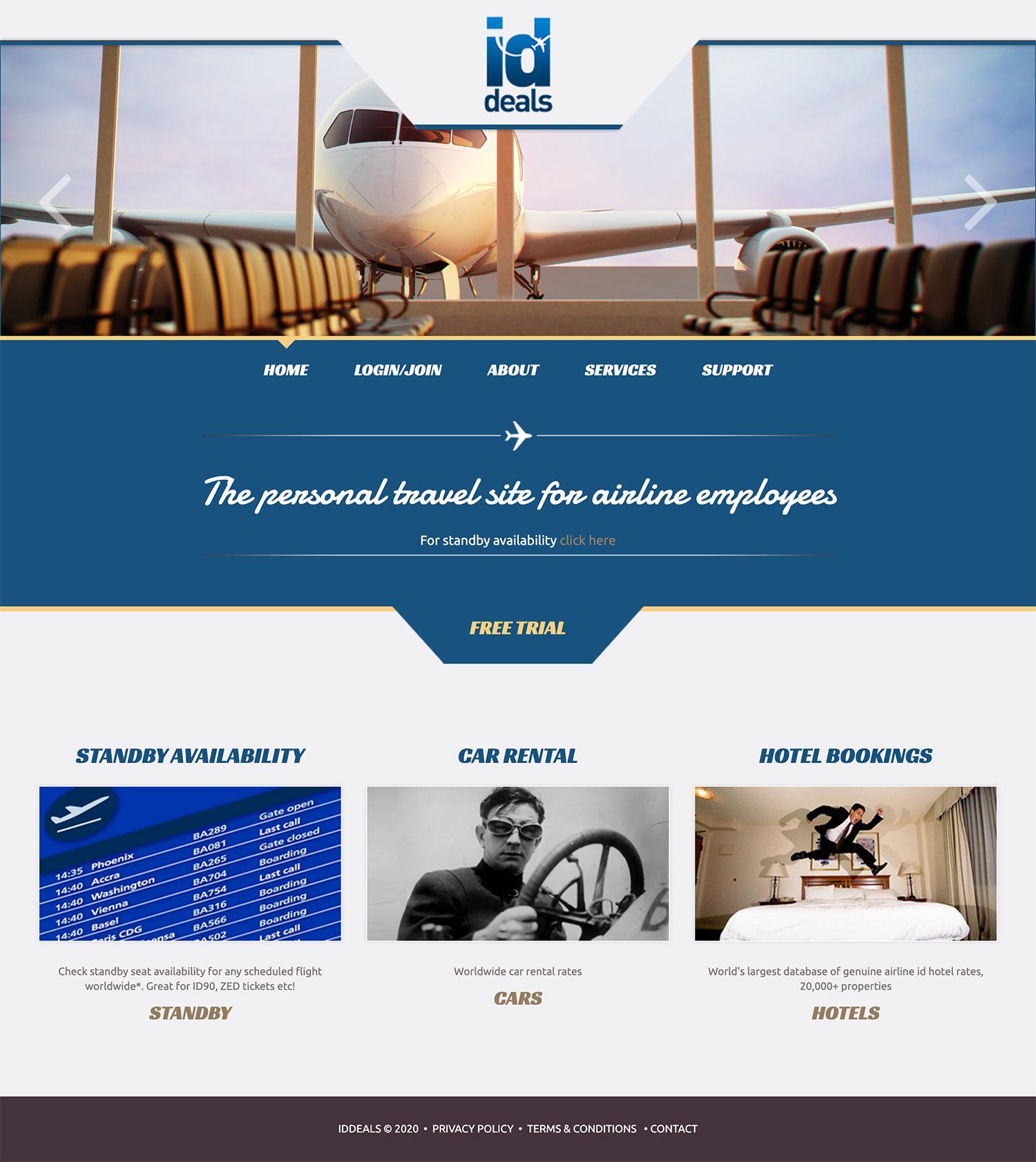 iddeals wordpress website